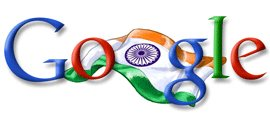 Google India - Independence Day Logo - August 15, 2006 - Visit www.google.co.in
