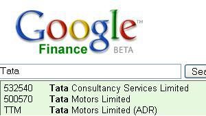 Visit Google Finance