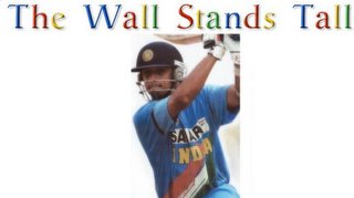 Rahul Dravid leads from the front to take India to a victory