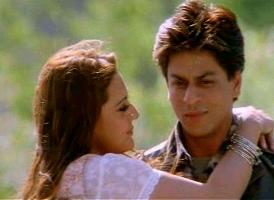Shahrukh Khan and Preity Zinta in Veer-Zaara