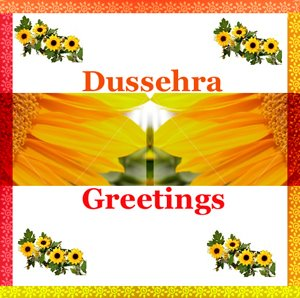 Wish you a Happy Dussehra - May this Dussehra lead us from fallacy to truth and darkness to light.