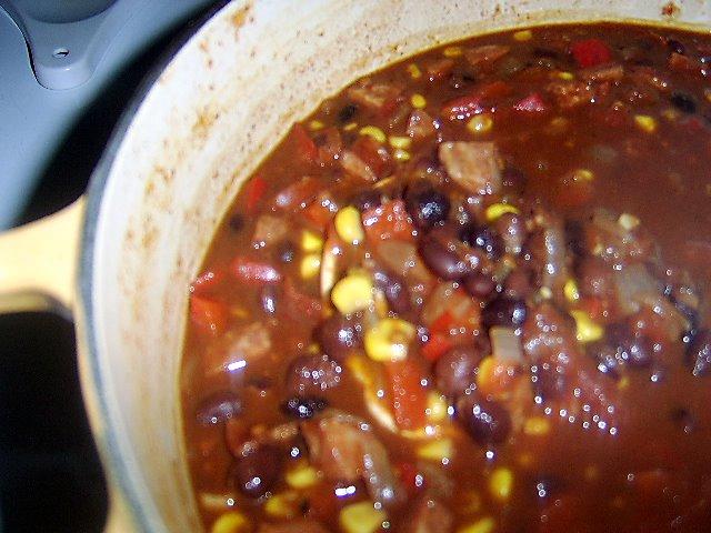 Black Bean And Chorizo Chili Recipes Dishmaps