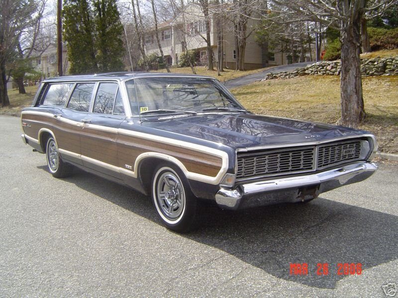 1972 Ford Ltd For Sale >> coupe-brougham: 1968 Ford Country Squire Wagon