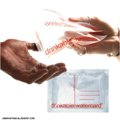 Drinkable Watercard