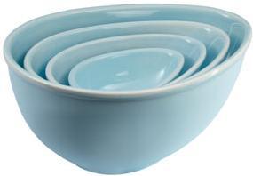 Nigella Lawson Blue Mixing Bowls