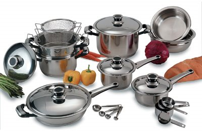 Cookware pots august 2006 for Kitchen craft waterless cookware price