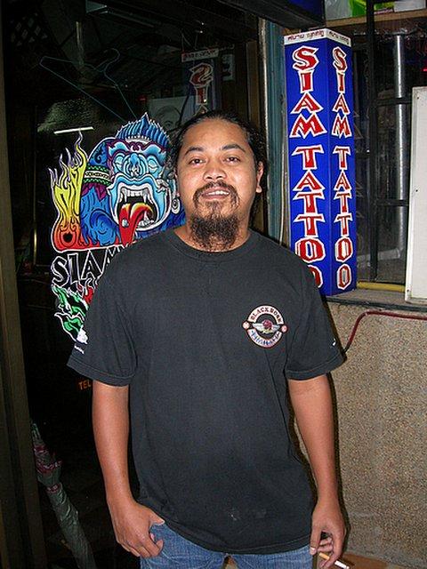 am from siam tattoo patong beach phuket jeffrey miller