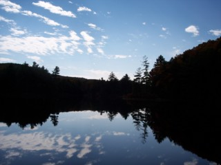 photo of Bigelow Pond in Bigelow State Park, Connecticut