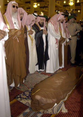 Janaza Prayer for the King Fahd