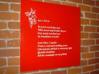 Banksy - Love Poem