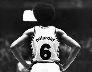 Julius Winfield Erving II, commonly known by the nickname Dr. J - The Philadelphia 76ers have retired his No. 6 jersey.