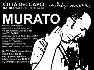 Murato 2006/2007 - il flyer bloccato dalla censura