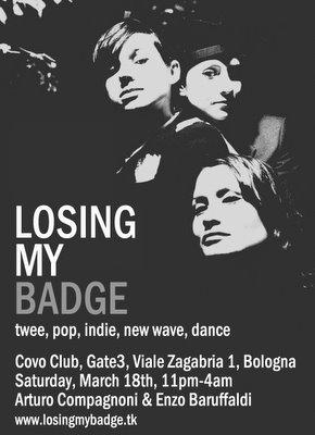 Losing My Badge #6 - Saturday, March 18th 2006