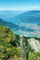 Depuis la Schynige Platte, Interlaken et le Thuner See