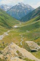 Le Val Lavinuoz au dessus de Lavin
