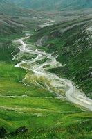 La plaine de la Greina vue en montant vers le Pass Diesrut