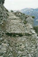 Alpes françaises, un peu au nord de Nice près d'Utelle