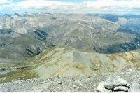 Depuis le Mt Mounier, vers le nord