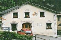 Maison peinte de la Basse Engadine