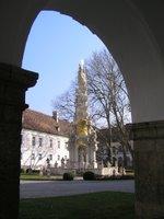 Heiligenkreuz, l'intérieur du cloître