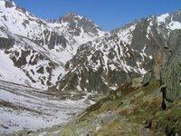 Depuis le Chrützlipass, regard vers Etzlihütte
