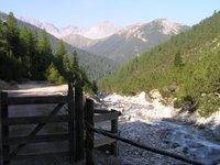 Au dessus de Scharl, dans le Val Sesvenna