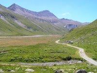 Après le Refuge Elizabetta en direction du Col de la Seigne