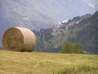 Au dessus de Valezan, vers la vallée de l'Isère