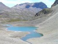 Premier Lac en descendant dans le Vallon de la Leisse