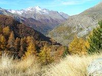 Italie, Val d'Aoste, au dessus de Cogne