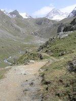 Entre Eaux Rousses et le Col de Loson (3299 mètres)