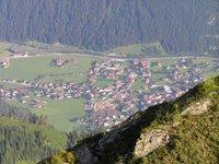 Vue sur Mayrhofen