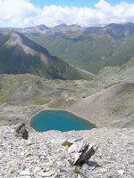 Un lac au-dessus de Juf; a-t-il un nom?