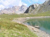 Un des lacs de Ste Marguerite: le Lac Rond