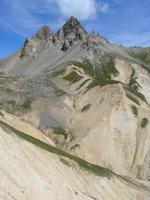 En descendant du Col du Vallon vers Névache