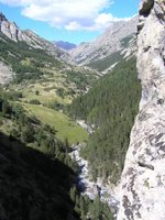 La haute vallée de l'Ubaye, Alpes de Haute Provence