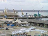 Le port de Brest, départ de notre périple