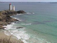 Vue sur le phare du Minou et la rade de Brest