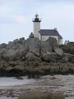 Le phare près de Brigognan plage