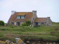 Maison bretonne sur l'île de Batz
