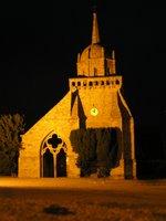 Eglise de Perros Guirrec de nuit