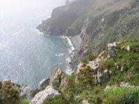 Les falaises près de Plouha