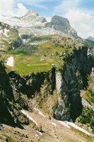 Montée vers le Col du Sanetsch depuis Gsteig