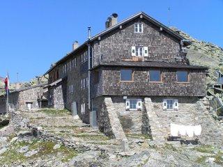 Autriche, à la frontière italienne, Landshuter Europahütte
