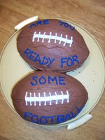Are you ready for some football! cake