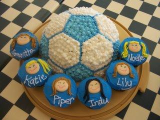 Soccer Team Cake