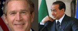 Bush ed il Berlusca: una gaffe tira l'altra