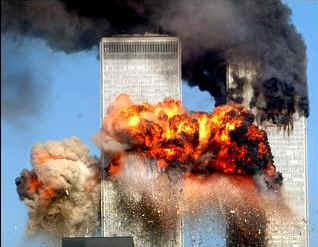 L'attacco alle Torri Gemelle dell'11 Setembre 2001