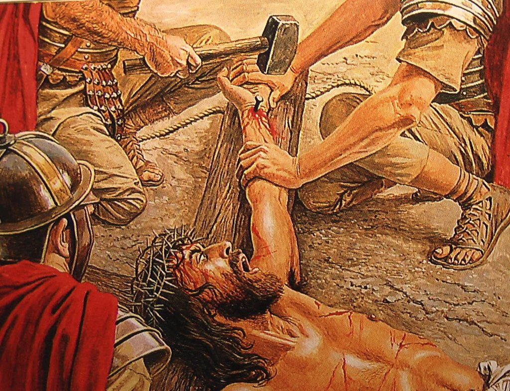 Sabbatical In Israel: Eleventh Station of the Cross - Jesus is ...