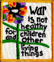 vintage new collectible WAR IS NOT HEALTHY for children and other living things another mother for peace shirt poster earrings jewelry pendant